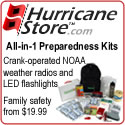 Emergency Supplies and Preparedness Kits at Hurric